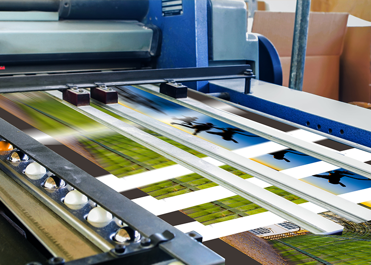 Lenticular Printing off the press - Lenticular Printing Technology