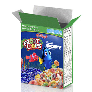 Fruit Loops Finding Dory Lenticular Printing Cereal