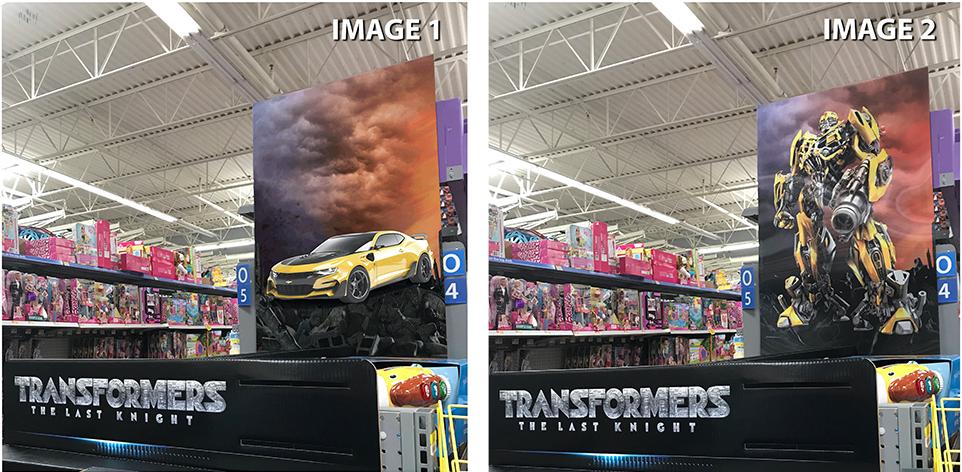 Transformers Lenticular Display